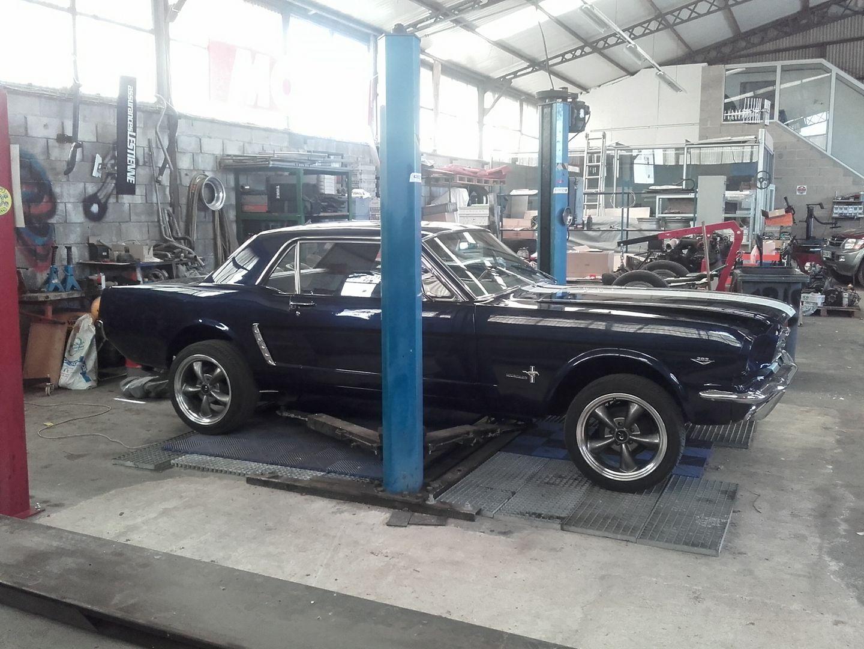 Mustang 1965 de Thibault
