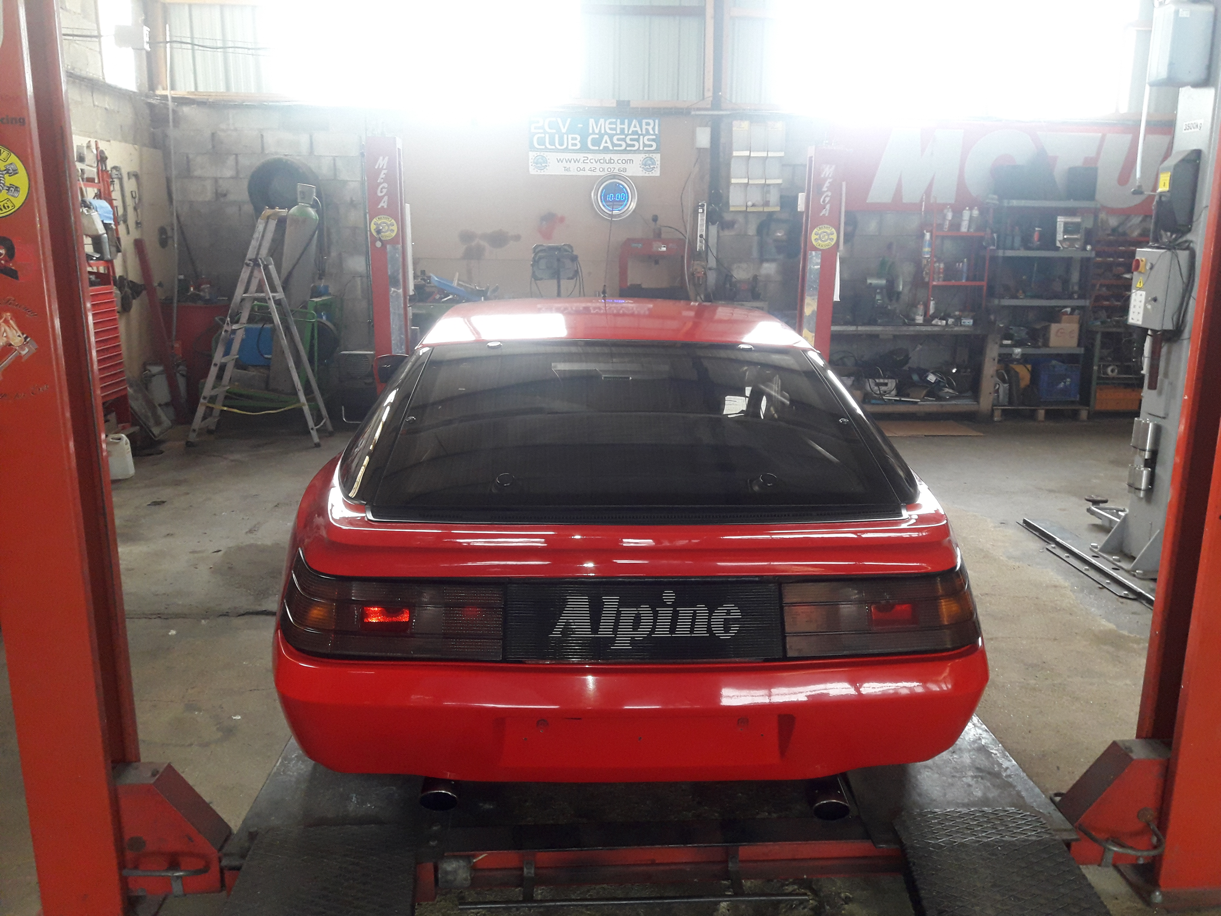 ALPINE GTA RENOV RACING